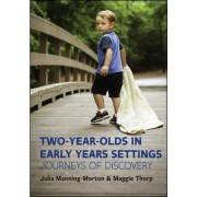 Two-Year-Olds in Early Years Settings: Journeys of Discovery by Julia Manning-Morton