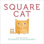 Square Cat by Elizabeth Schoonmaker