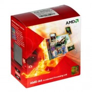 AMD A-Series A4 3400 Dual-Core Processore (2.70 GHz, 1MB Cache, Socket FM1, 65W, Radeon HD6410D, 3 Year Warranty, Retail Boxed)
