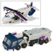 Transformers Universe Deluxe Class Classic Series Action Figure - Decepticon Tankor with Triple Changer (Robot, Tanker Truck and Trasnport Plane Modes) by Transformers