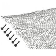 Krycí síť proti listí 6 x 4m pro zahradní jezírka