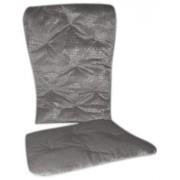 Baby Doll Bedding Crocodile Rocking Chair Pad Silver Grey