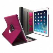 Clubcase Coque iPad Air rotative 360° Jean Denim Rose