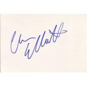 Chris Elliott Autographed Index Card