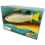 Rittle Brown Trout Realistic Swimming Fish Water Pool & Bath Toy 8 (Battery Operated)