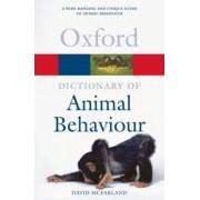 A Dictionary of Animal Behaviour by David McFarland