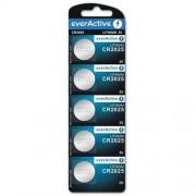 everActive 5x bateria litowa mini everActive CR2025