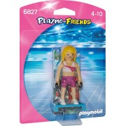 PLAYMOBIL - FIGURINA - INSTRUCTOR DE FITNESS (PM6827)