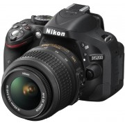 Nikon D5200 + 18-55mm DX Lens + Shoulder Bag + Lexar 8GB SD