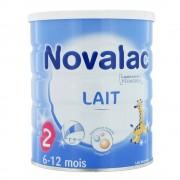 novalac lait 2eme age 6-12mois 800g