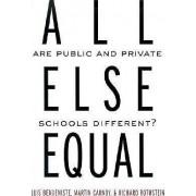 All Else Equal by Luis Benveniste
