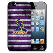 NRL Licensed Melbourne Storm Grunge Back Case for iPhone 5/5S