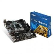MSI B150M Pro-VDH Carte mère Intel Micro ATX Socket 1151