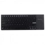 Ipazzport KP-810-35H ultrafino teclado multimedia inalambrico - negro