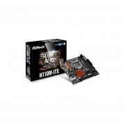 ASRock Motherboard MINI-ITX ATX DDR4 LGA 1151 (H110M-ITX)
