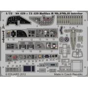 Eduard Photoetch 1:72 - halifax Mk.I/Mk.II interior S.A. (Revell) - EDPSS429