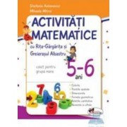 5-6 ani Activitati matematice grupa mare - Stefania Antonovici Mihaela Mitroi