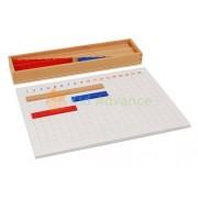 Kid Advance Montessori Subtraction Strip Board