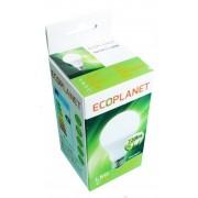 Bec LED A60 ECOPLANET 9W, 6500K, 220V, E27, 720lm, lumina rece