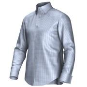 Maatoverhemd blauw 53318