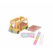 Sylvanian Families Double Nursery Decker Bus