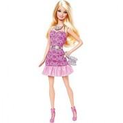 Barbie Fashionista Party Glam Barbie Doll Pink Strapless Dress