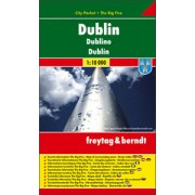 Dublin city plan 1:10 000(freytag & berndt)
