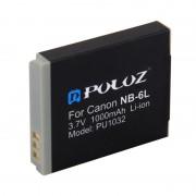 PULUZ NB-6L 3.7V 1000mAh Batterie Li-ion pour Canon IXUS 85/95, D10
