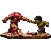 Marvel Avengers Age of Ultron Egg Attack Action Hulkbuster vs Hulk PVC Figura