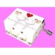 Musica di music box Matrimonio 2 Tauben moderno Orologio gioco