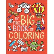 My First Big Book of Coloring by Little Bee Books