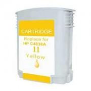 Cartus Cerneala compatibil HP 11 (C4838AE), HP11 (Y@28ml) pentru HP Business Inkjet 1000/ 1100/ 1200/ 1700/ 2200/ 2230/ 2250/ 2280/ 2300/ 2600/ 2800 CP1700 Designjet 100/ 110/ 70 DeskJet 2200/ 2250 Officejet 9110/ 9120/ 913 Officejet Pro K850