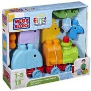 Mega Bloks First Builders Animal Safari Train