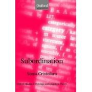 Subordination by Sonia Cristofaro
