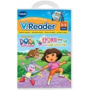 V.Reader Animated E-Book Cartridge - Dora and the Three Little Pigs Children, Kids, Game by Avner-Toys