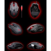 Mouse, A4 Bloody V7m, 3200DPI, Gaming, Metal