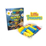 Throw And Go Plastic Stacking Blocks Similar To Jenga Toys A Game Of Physical And Mental Skill Great Gift For Children.