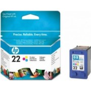 Cartus HP 22 Tri-colour Inkjet Print Cartridge
