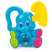 Zornaitoare, elefant, CLEMENTONI Baby