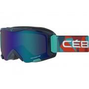 Masque De Ski Enfant Masque De Ski Enfant Cebe Super Bionic Blue Rainb