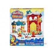 Joc Play-Doh Town – statia de pompieri