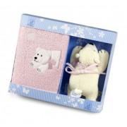 Geschenkset Ella der Eisbär Kinderhandtuch + Mini Spieluhr - STERNTALER 9701626