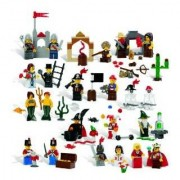 Lego Education Fairytale And Historic Minifigures Set 779349 (227 Pieces 22 Different Figures)