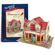 Cubicfun 3D Puzzle - Ironmongery Shop British Flavor