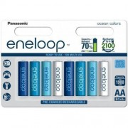 Panasonic Eneloop Ocean Colors AA 1900 mAh 2100 cykli 8szt. - edycja limitowana
