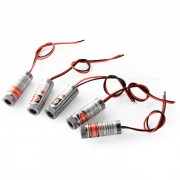JR 12mm 5mW 650nm laser rojo Cabeza (5PCS / DC 3 ~ 4.2V)