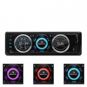 auna MD-180 Autoradio UKW RDS USB SD MP3 AUX LED DIN-ISO-Standard FB