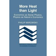 More Heat than Light by Philip Mirowski