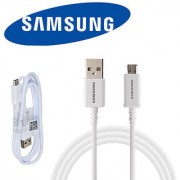 White Micro USB Data Cable for Samsung Galaxy S4 S3 III Note 2 II I9500 10FT/3M