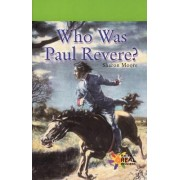 Who Was Paul Revere? by Sharon Moore